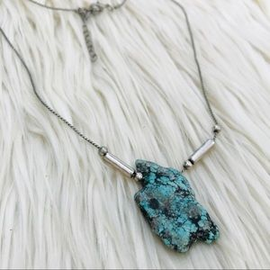 • UO Faux Turquoise Necklace •
